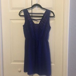 Blue spring/summer dress